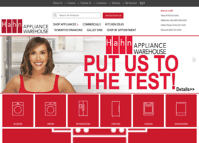 hahnappliance.com