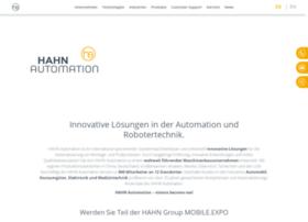 hahnautomation.com