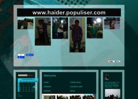 haider.populiser.com