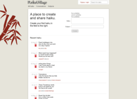 haikuvillage.com