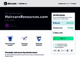 haircareresources.com
