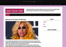 haircolorcode.com