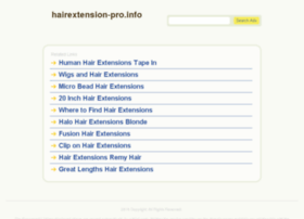 hairextension-pro.info