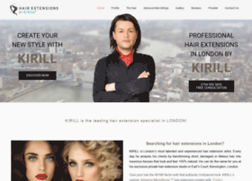 hairextensionsbykirill.co.uk