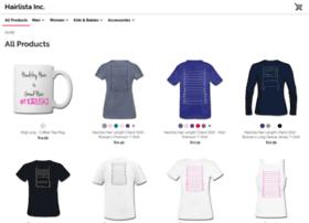 hairlistainc.spreadshirt.com