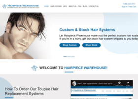 hairpiecewarehouse.com