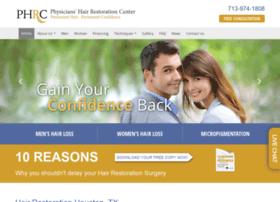 hairrestorationhouston.com