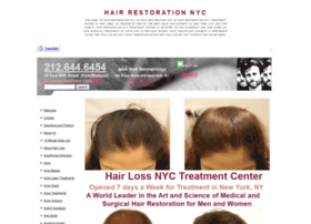 hairrestorationnyc.org