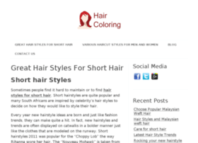 hairstylesforshorthair.co.za