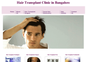 hairtransplantbangaloreindia.com