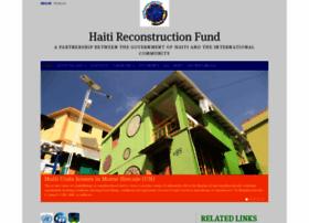 haitireconstructionfund.org