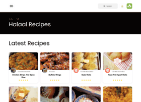 halaalrecipes.co