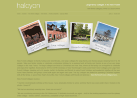 halcyonholidaycottages.co.uk