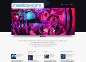 halcyonproductions.com