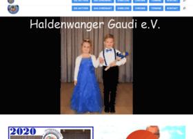 haldenwanger-gaudi.de