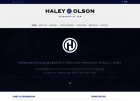 haleyolson.com