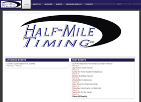halfmiletiming.com