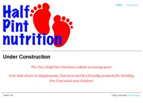 halfpintnutrition.com