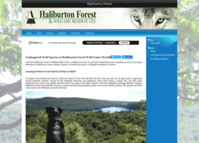 haliburtonforest.webpin.com
