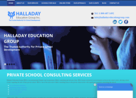 halladayeducationgroup.com