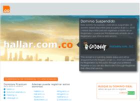 hallar.com.co