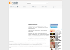 hallelujah.nedir.com