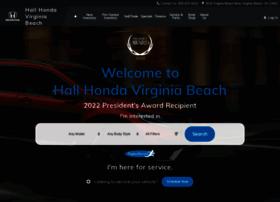 hallhonda.com