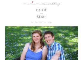 hallieandseanwedding.com