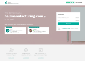 hallmanufacturing.com