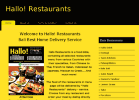 hallorestaurants.com