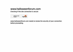 halloweenforum.com