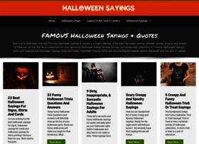 halloweensayings.net