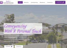 hallsconveyancing.com.au