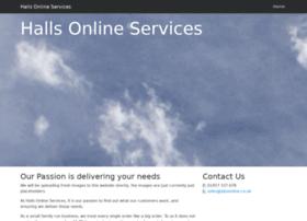 hallsonlineservices.co.uk