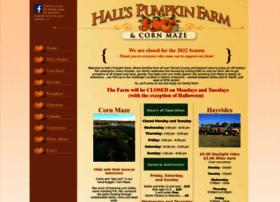 hallspumpkinfarm.net