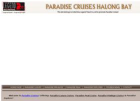 halongparadise-cruises.com
