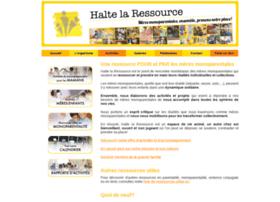 haltelaressource.org