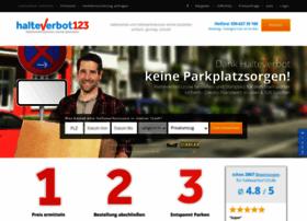 halteverbot123.de