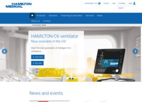 hamilton-medical.com