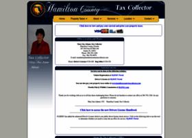 hamiltoncountytaxcollector.com