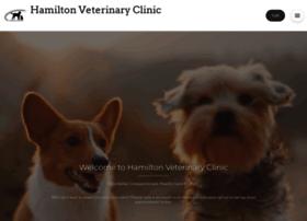 hamiltonvetclinic.com