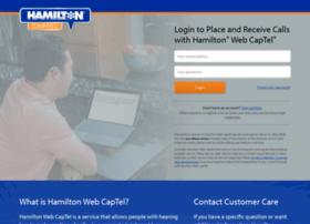 hamiltonwebcaptel.com