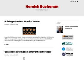 hamishbuchanan.com