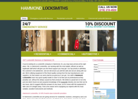hammondlocksmiths.biz