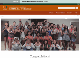 hammondweekend.miami.edu