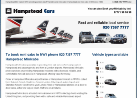 hampsteadminicabs.co.uk