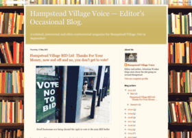 hampsteadvillagevoice.blogspot.com