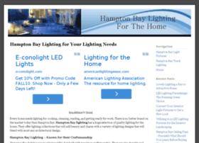 hamptonbay-lighting.com