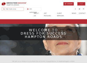 hamptonroads.dressforsuccess.org