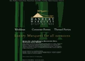hanburymarquees.co.uk